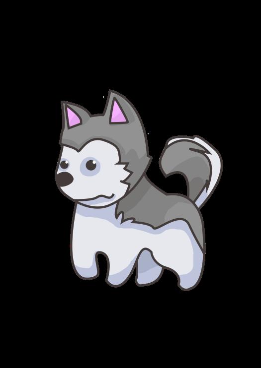 Chibi Siberian Husky