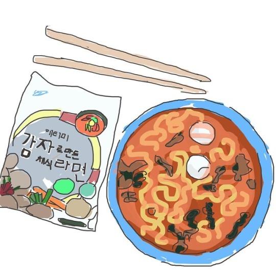 Atomy Potato Noodle