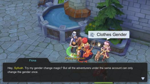 Ragnarok M Eternal Love: One Time Gender Change Magic